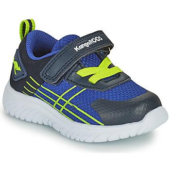 Chaussures Garçon Baskets basses Kangaroos KI-TWEE EV Bleu / Vert