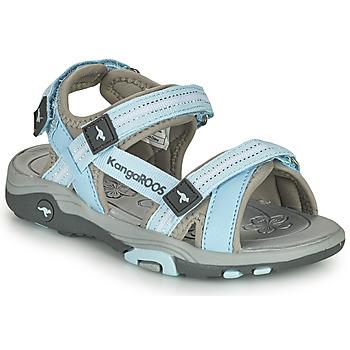 Chaussures Enfant Sandales et Nu-pieds Kangaroos K-LENI Bleu / Gris