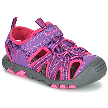 Chaussures Fille Sandales et Nu-pieds Kangaroos K-ROAM Rose / Gris