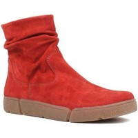 Chaussures Femme Boots Ara Om St High Soft Rouge