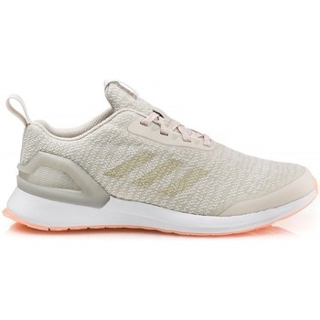 Chaussures Enfant Running / trail adidas Originals Chaussures Running Enfant  Rapidarun K Knit J Beige