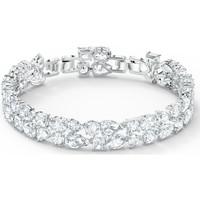 Montres & Bijoux Femme Bracelets Swarovski Bracelet  Tennis Deluxe Blanc