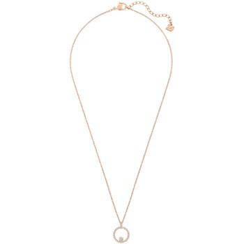 Montres & Bijoux Femme Colliers / Sautoirs Swarovski Pendentif  Creativity Circle rosé Rose