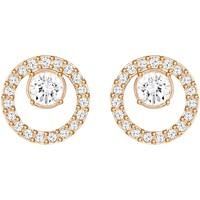 Montres & Bijoux Femme Boucles d'oreilles Swarovski Boucles d'oreilles  Creativity rosées small Rose