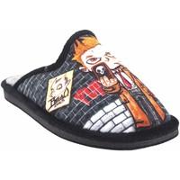 Chaussures Garçon Chaussons Gema Garcia Go home garçon  2301-6 noir Noir