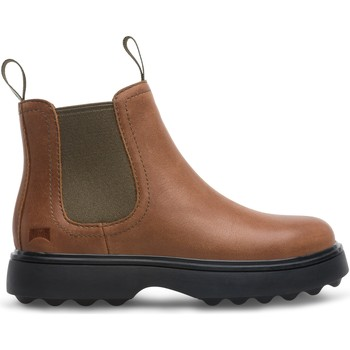 Chaussures Fille Bottines Camper Bottines Norte Kids marron