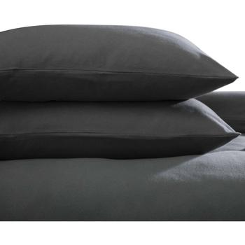 Maison & Déco Taies d'oreillers, traversins Belledorm Taille unique Gris foncé