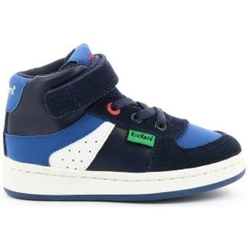 Chaussures Garçon Basketball Kickers BILBON BM 101 bleu