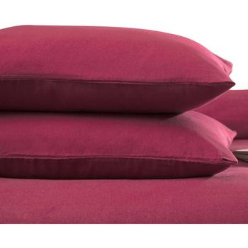 Maison & Déco Taies d'oreillers, traversins Belledorm Taille unique Rouge