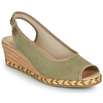 Chaussures Femme Espadrilles Damart 43775 Kaki
