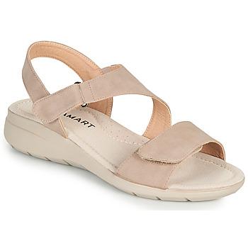 Chaussures Femme Sandales et Nu-pieds Damart 67808 Beige rosé
