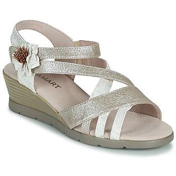 Chaussures Femme Sandales et Nu-pieds Damart 61170 Argenté