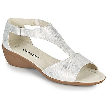 Chaussures Femme Sandales et Nu-pieds Damart 49019 Argenté