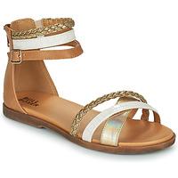 Chaussures Fille Sandales et Nu-pieds Bullboxer ALM013F1S-GOLD Marron