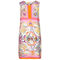 Vêtements Femme Robes courtes Derhy SEOUL Rose/Multicolore