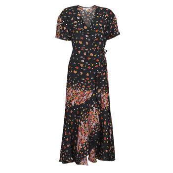 Vêtements Femme Robes longues Derhy SUEDE Noir / Multicolore