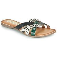 Chaussures Femme Mules Gioseppo STILES Noir / Blanc