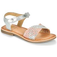 Chaussures Fille Voir tous les vêtements femme Gioseppo QUINCY Argenté / Rose