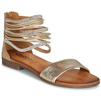 Chaussures Femme Sandales et Nu-pieds IgI&CO BRONIA Doré / Cognac