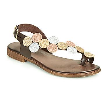 Chaussures Femme Sandales et Nu-pieds IgI&CO CROPPA Marron