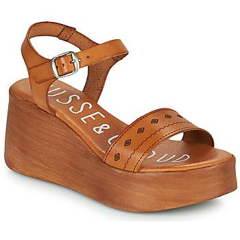 Chaussures Femme Sandales et Nu-pieds Musse & Cloud MILI Cognac
