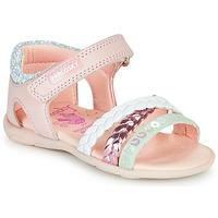 Chaussures Fille Sandales et Nu-pieds Pablosky KINNO Rose