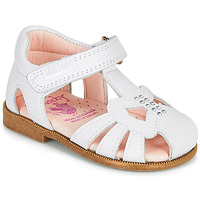 Chaussures Fille Sandales et Nu-pieds Pablosky PAMMO Blanc