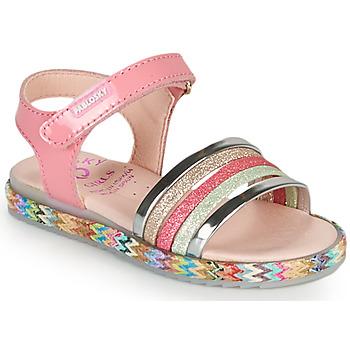 Chaussures Fille Sandales et Nu-pieds Pablosky PANNI Rose