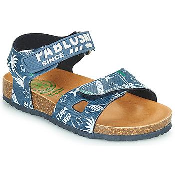 Chaussures Garçon Sandales et Nu-pieds Pablosky FOUNIR Bleu