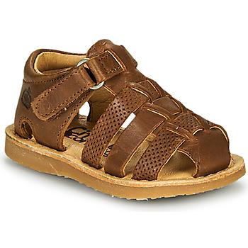 Chaussures Garçon Sandales et Nu-pieds Citrouille et Compagnie MISTIGRI Camel