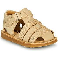 Chaussures Garçon Sandales et Nu-pieds Citrouille et Compagnie MISTIGRI Beige