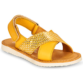 Chaussures Fille Sandales et Nu-pieds Citrouille et Compagnie OVETTE Jaune