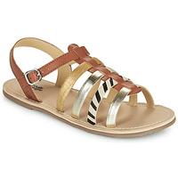 Chaussures Fille Sandales et Nu-pieds Citrouille et Compagnie MAYANA Tan
