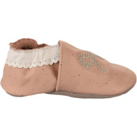 Chaussures Fille Chaussons bébés Robeez Chaussons fille -  - Rose - 17+ ROSE