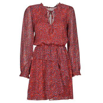 Vêtements Femme Robes courtes Pepe jeans LULIS Rouge / Bleu