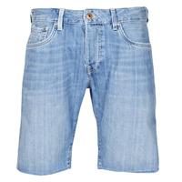 Vêtements Homme Shorts / Bermudas Pepe jeans STANLEU SHORT BRIT Bleu Clair