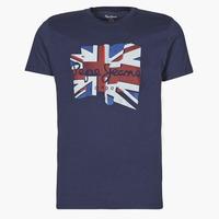 Vêtements Homme T-shirts manches courtes Pepe jeans DONALD Marine
