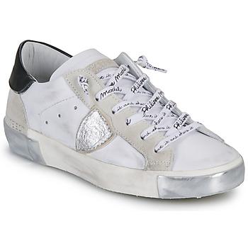 Chaussures Femme Baskets basses Philippe Model PARIS Blanc