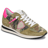Chaussures Femme Baskets basses Philippe Model TROPEZ X Camouflage