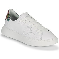 Chaussures Femme Baskets basses Philippe Model TEMPLE Blanc