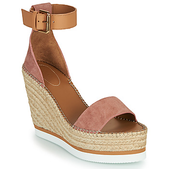 Chaussures Femme Espadrilles See by Chloé GLYN Rose Nude