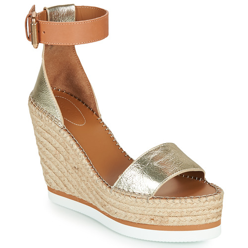 Chaussures Femme Espadrilles See by Chloé GLYN Doré