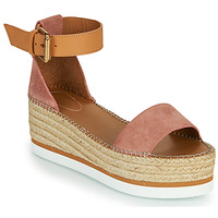 Chaussures Femme Espadrilles See by Chloé GLYN SB32201 Rose Nude