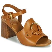 Chaussures Femme Sandales et Nu-pieds See by Chloé HANA SB3406 Cognac