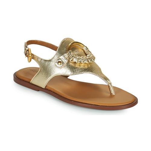 Chaussures Femme Sandales et Nu-pieds See by Chloé HANA SB36131 Doré