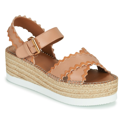 Chaussures Femme Sandales et Nu-pieds See by Chloé GLYN SB36112 Rose Nude