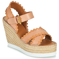 Chaussures Femme Sandales et Nu-pieds See by Chloé GLYN SB36113 Beige Nude