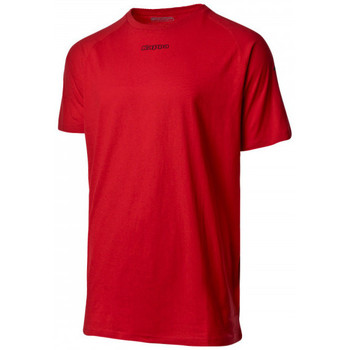 Vêtements T-shirts manches courtes Kappa Klake Red crimson-Black