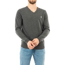 Vêtements Homme Pulls Timberland merino u14 dark grey heather gris