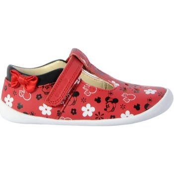 Chaussures Fille Ballerines / babies Clarks Ballerine Cuir  Roamer Bow Rouge
